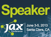 Speaking at JAX 2013